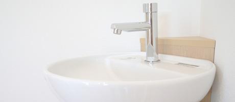 手洗い器設置