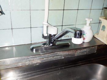 大阪市旭区 T様邸 キッチン水栓交換