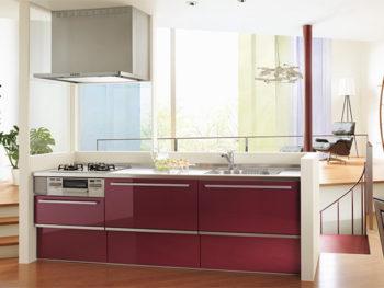 クリナップ システムキッチン ラクエラ I型2100
