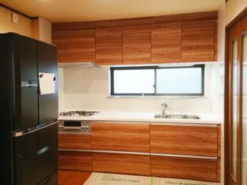 東大阪市 O様邸 キッチン・内装・玄関収納リフォーム