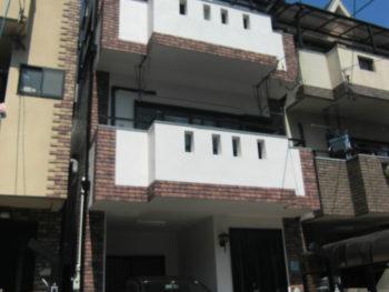 大阪市鶴見区 K様邸 外壁・屋根・テラスリフォーム