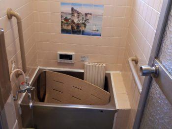守口市 N様邸 浴室手すり新設リフォーム