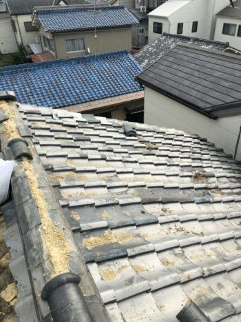 屋根をすっきり鋼板に葺き替えました★