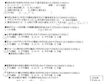 大阪市西区 K様の声 キッチン水栓・洗面収納リフォーム
