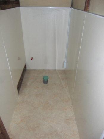 和式トイレ改修工事  2018-12-07