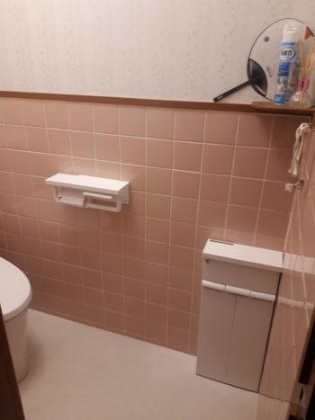 明るく掃除しやすいトイレになりました★
