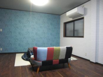 2室の洋室をひとつに(2)