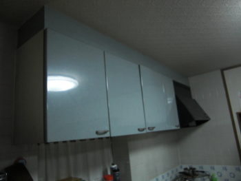 システムキッチン取替