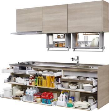 【キッチン】クリナップのラクエラとステディアを比べてみました