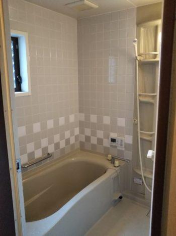 癒しのうたせ湯付ユニットバス&機能的な洗面室になりました★