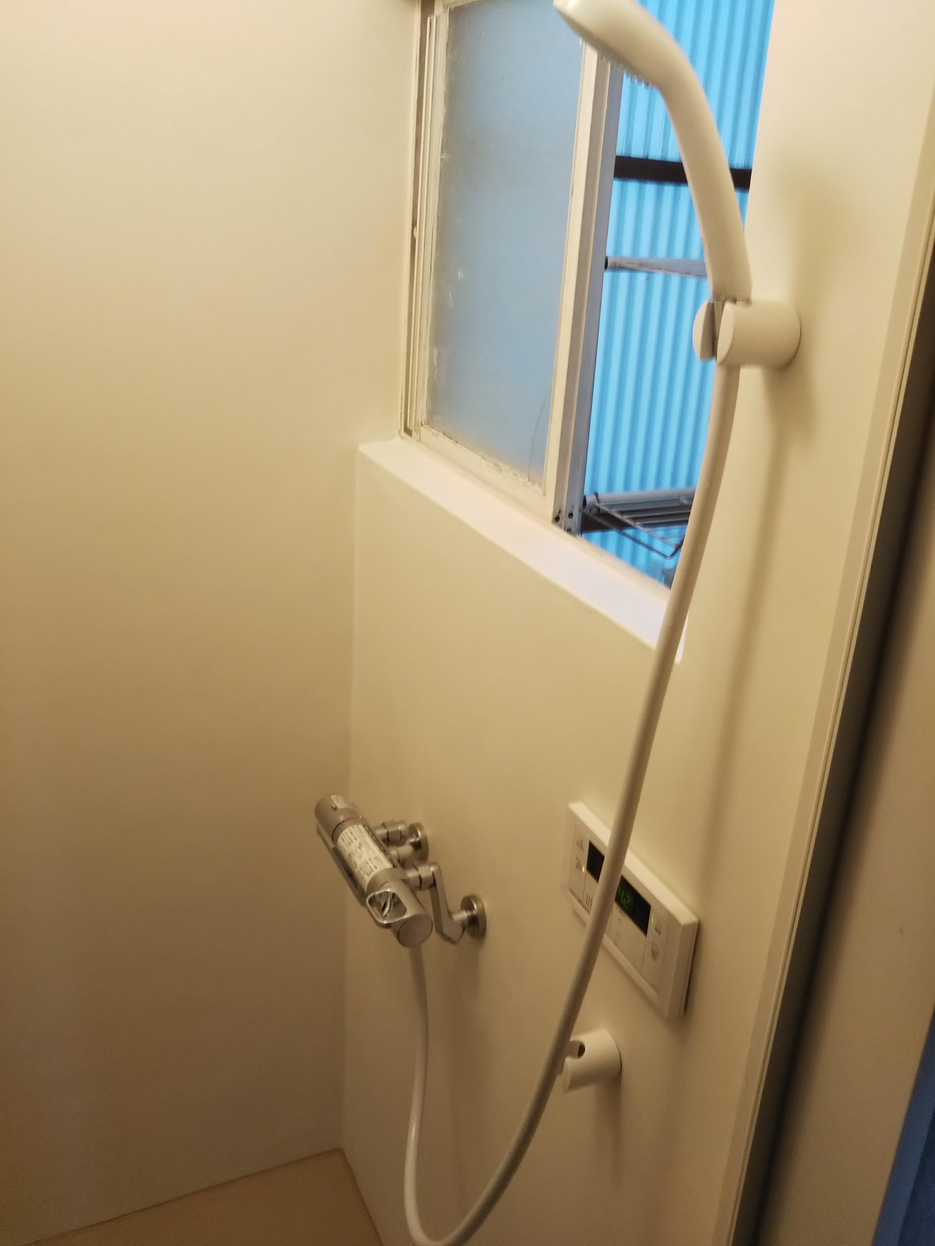 タイル貼の浴室をシャワールームに!